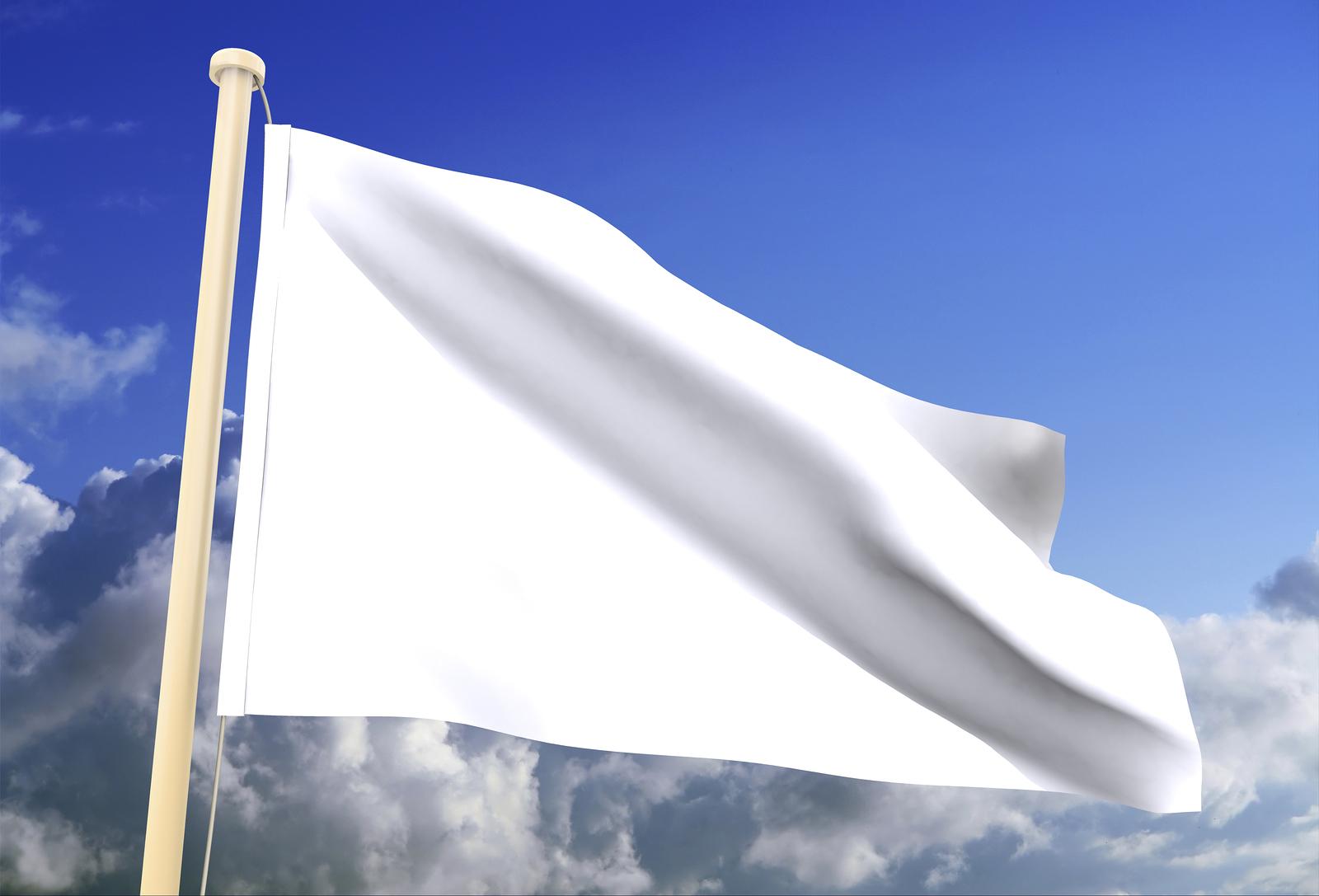 всё время белый флаг картинка сделать цветник