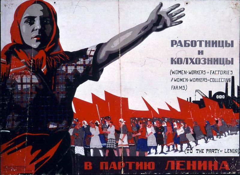 """Naiste """"vabastamine perekonna orjusest"""" oli kommunistliku ideoloogia oluline punkt."""