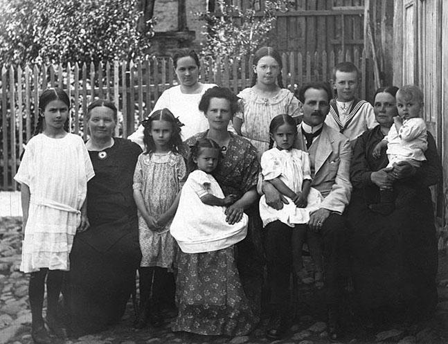 Peeter Põld perekonnaga