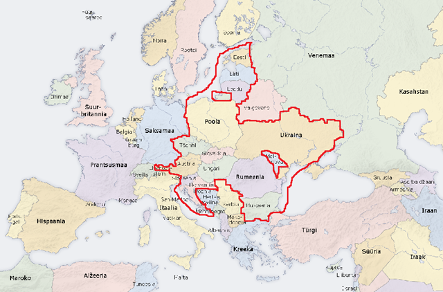 visegrad_map