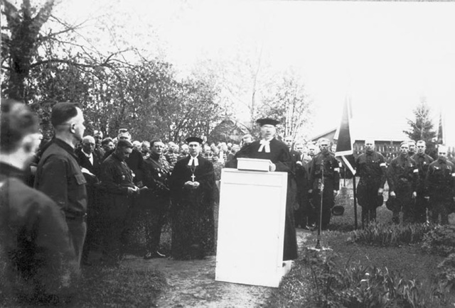 Luteri kirikuõpetajad vabadussõjalaste üritusel