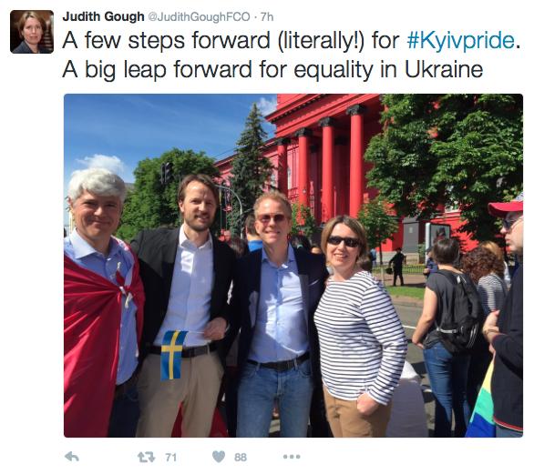 Kiievi marsi tweet