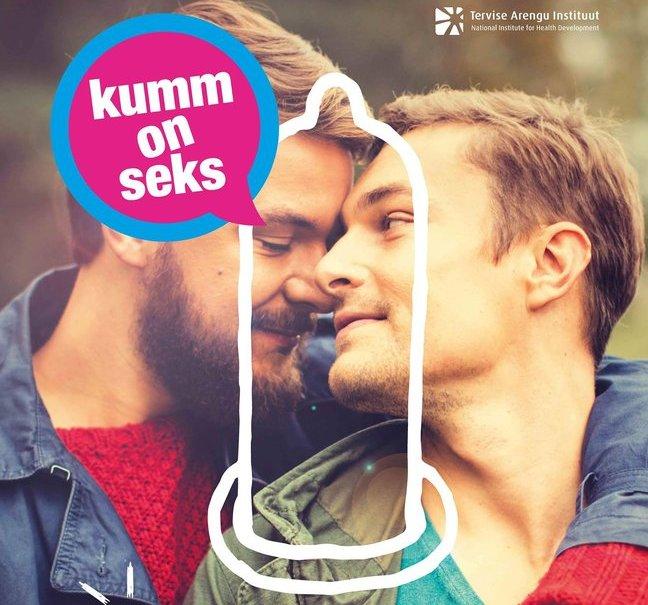 """Fragment kampaania """"Kumm on seks!"""" tänavareklaamidest."""