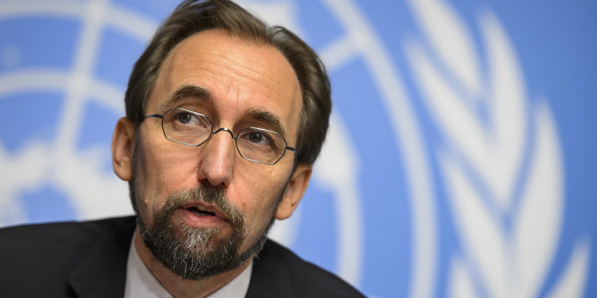ÜRO inimõiguste ülemvolinik Zeid Ra'ad al-Hussein.