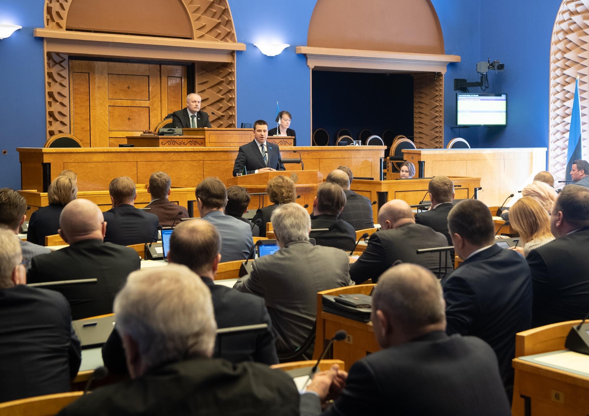 Riigikogu andis Jüri Ratasele volituse valitsuse moodustamiseks