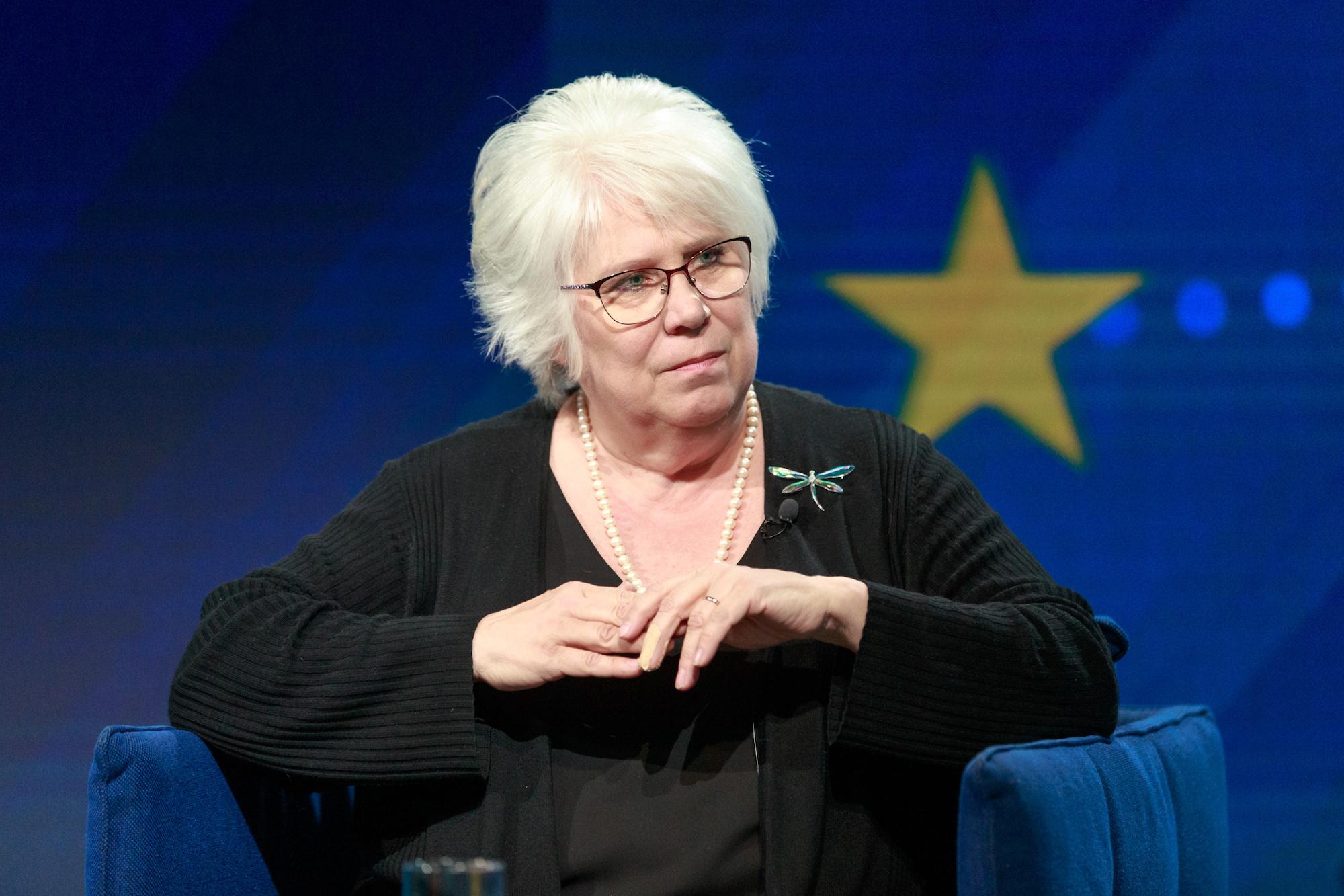 Marina Kaljurand – sots, kooseluseaduse ja pagulaste toetaja