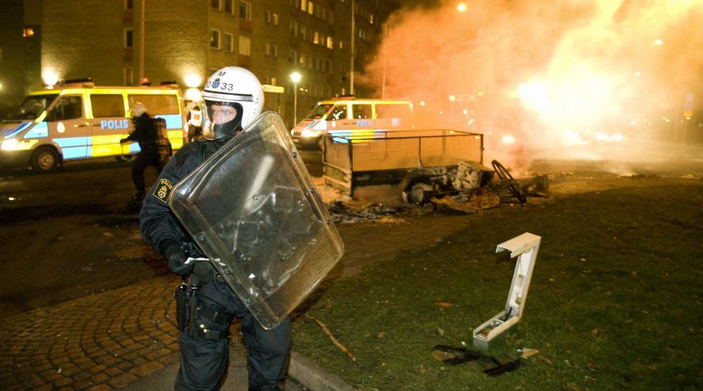 Rootsi pommiintsidentide hulk on aastaga suurenenud 45 protsenti