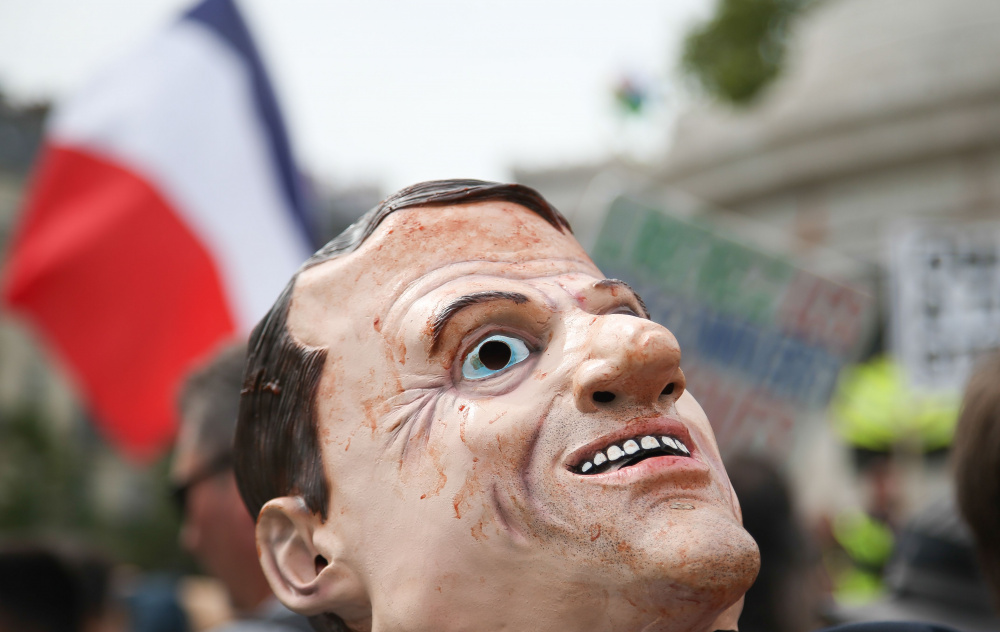 Prantsusmaa on langemas kaosesse