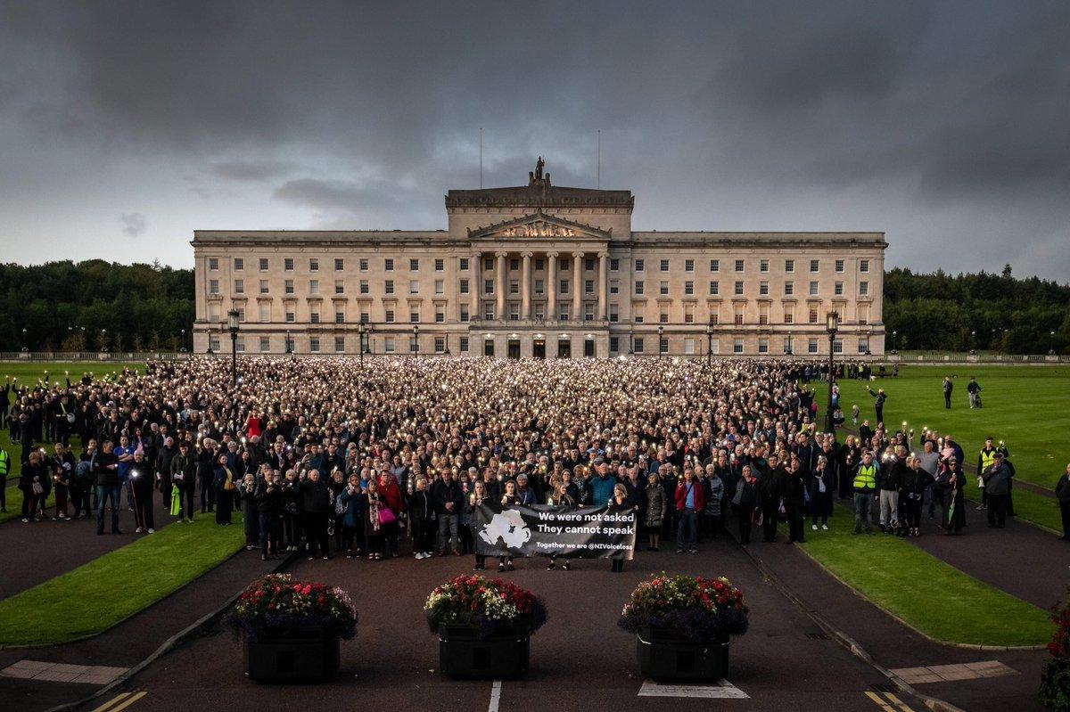 Üle 20 000 inimese marssis abordi kehtestamise vastu Põhja-Iirimaal
