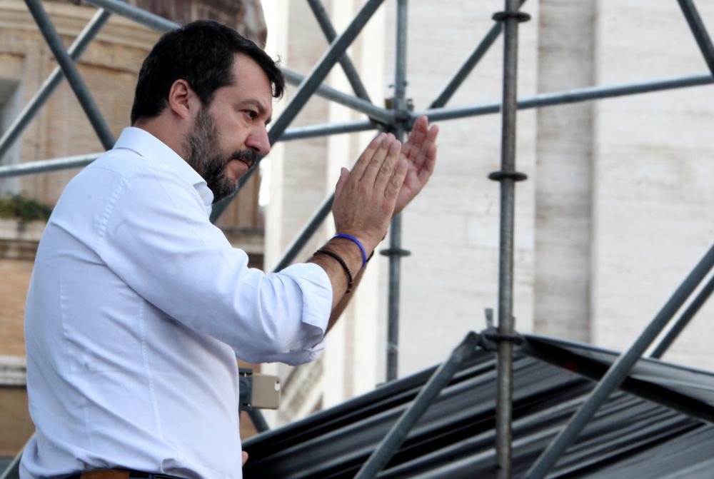 Matteo Salvini on Itaalia usaldusväärseim poliitik