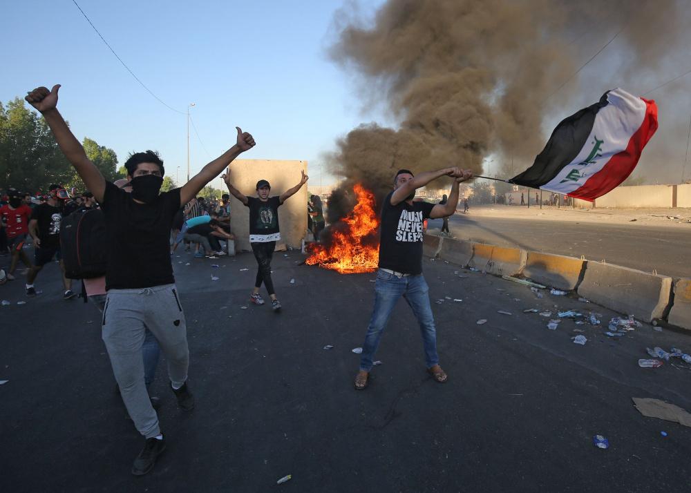 Iraaki on tabanud tõsised rahutused ja hukkunud on ligi sada inimest