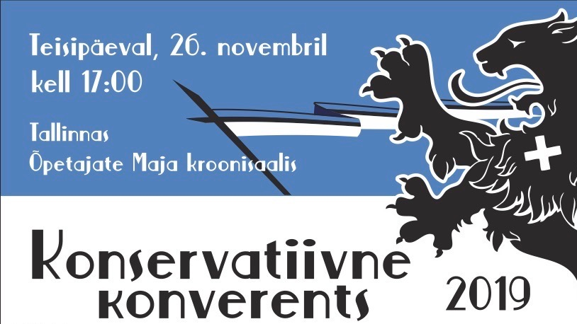 Tulge konservatiivsele konverentsile juba järgmise nädala teisipäeval!