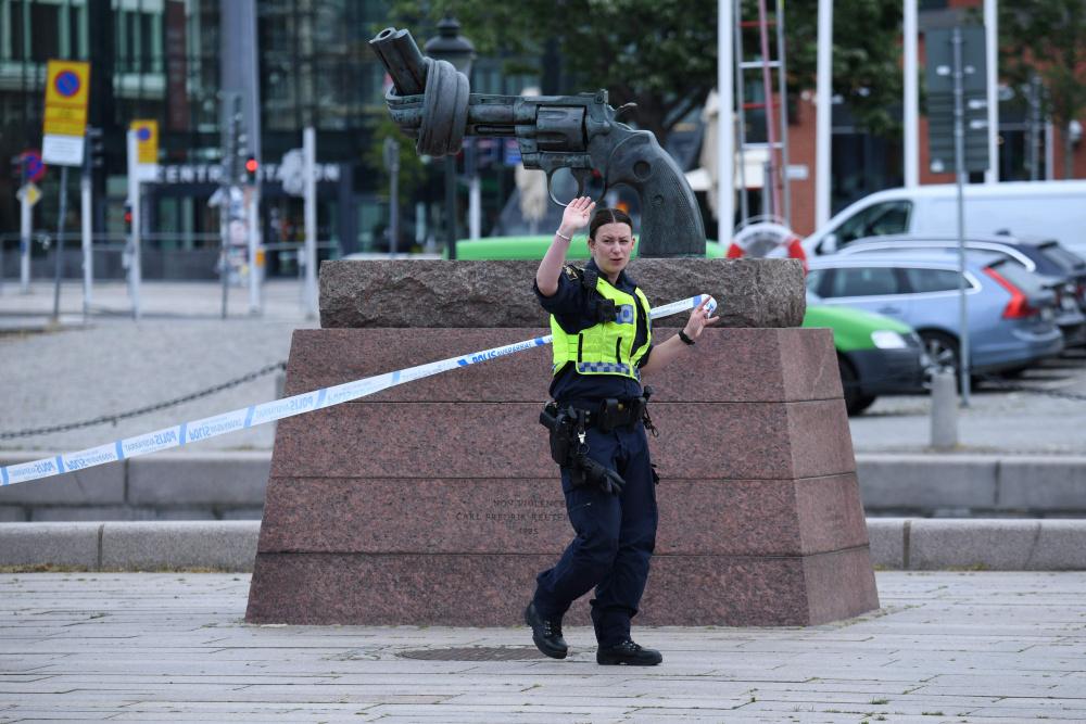 Rootsi politsei gängisõja ohvrina