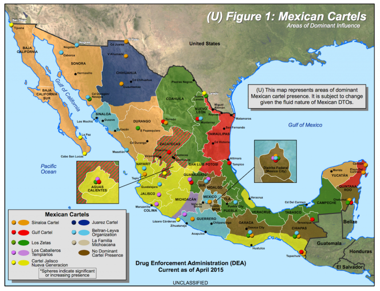 Trump kuulutab Mehhiko narkokartellid terroriorganistasioonideks
